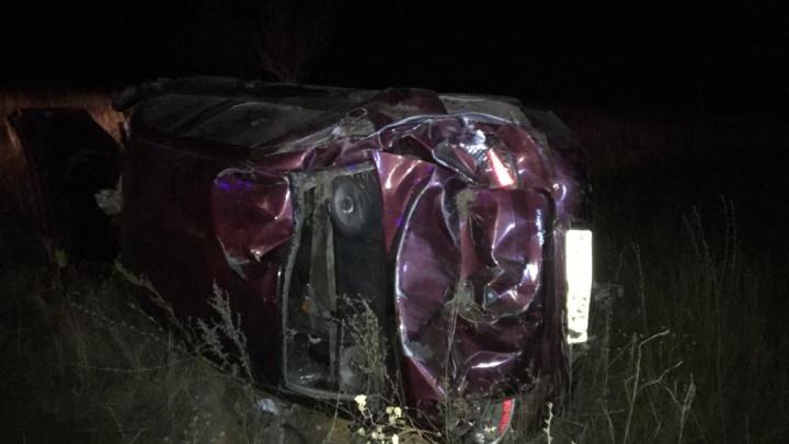 Торопился на тот свет: в Самарской области перевернулся автомобиль