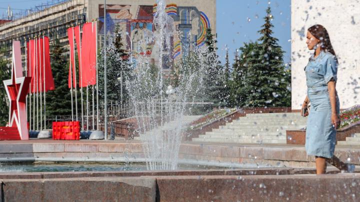 Город жжет: Уфа опустела под знойным солнцем