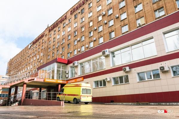 Больница последние полгода работает как главный ковидный госпиталь региона