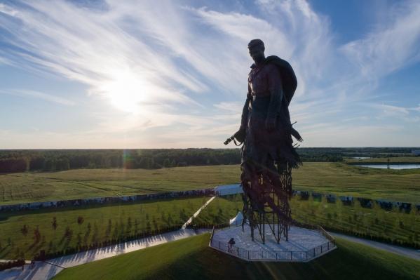 Ржевский мемориал был готов к открытию еще в апреле, но из-за пандемии церемонию перенесли на лето