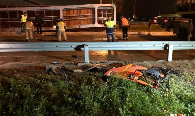 Пешеходное движение на месте рухнувшего моста на Челябинском тракте организуют по новой схеме