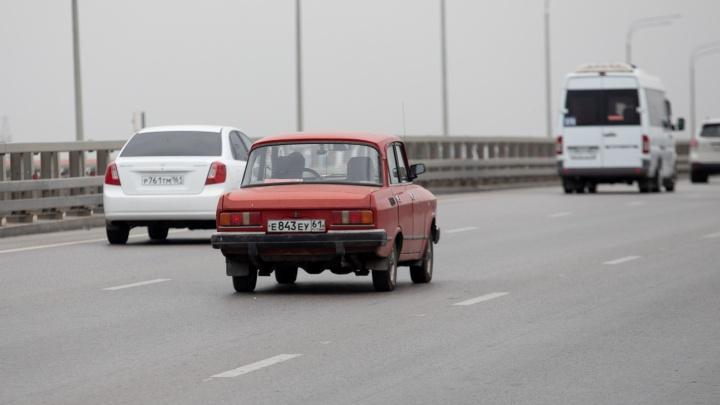 В Ростовской области по трассе М-4 «Дон» ограничили движение по одной полосе