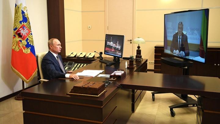Путин назвал проблемы Ростовской области: безработица, дефицит врачей и мест в детсадах