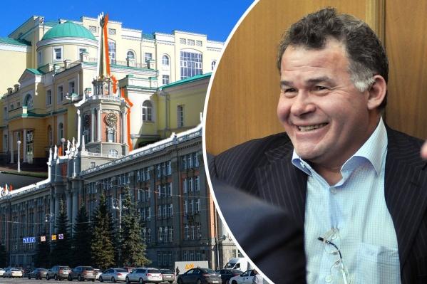 Владимир Тунгусов два десятка лет был ключевой фигурой уральской политики