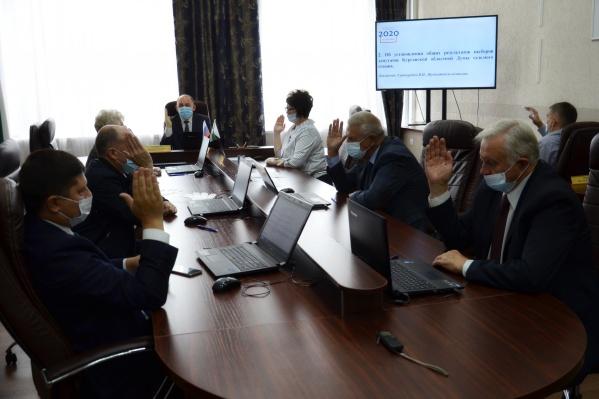 ЦИК Зауралья поздравил участников выборов с «успешным результатом»