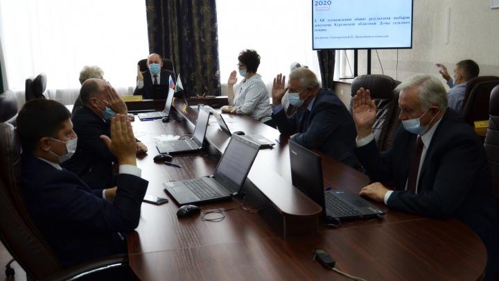 Избирком Зауралья утвердил список депутатов Курганской областной думы