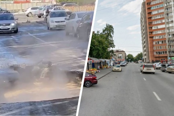 Инцидент произошёл на улице Ольги Жилиной