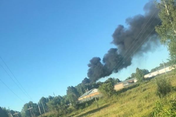 Сообщение о пожаре поступило в 20:00