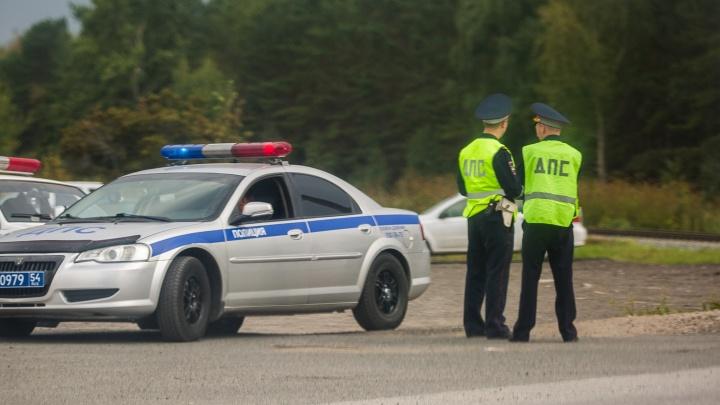 В Новосибирской области Toyota Platz сбила пешехода — мужчину увезли в больницу