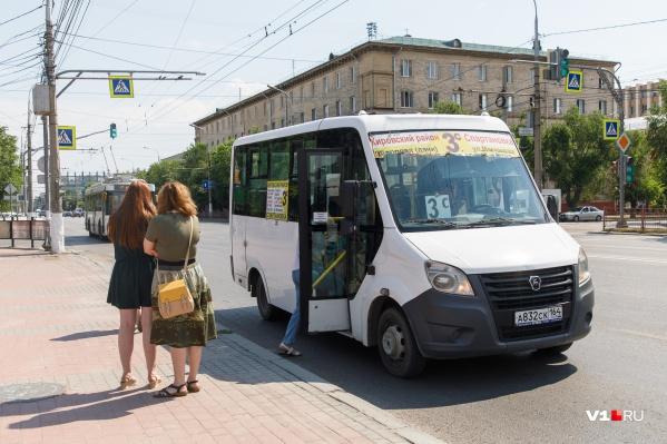 Проезд подорожал в еще одной волгоградской маршрутке