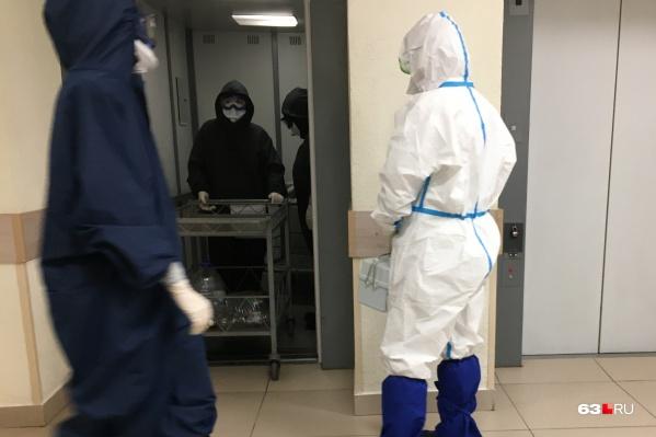 В регионе снова открывают госпитали для больных COVID