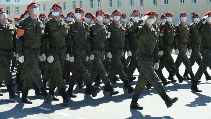 Военные объяснили порядок проведения парада Победы в Екатеринбурге
