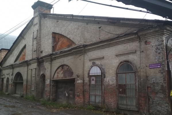Здание можно использовать под склад
