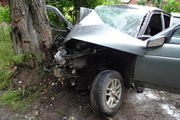 По предварительной информации, у водителя не было прав на управление машиной