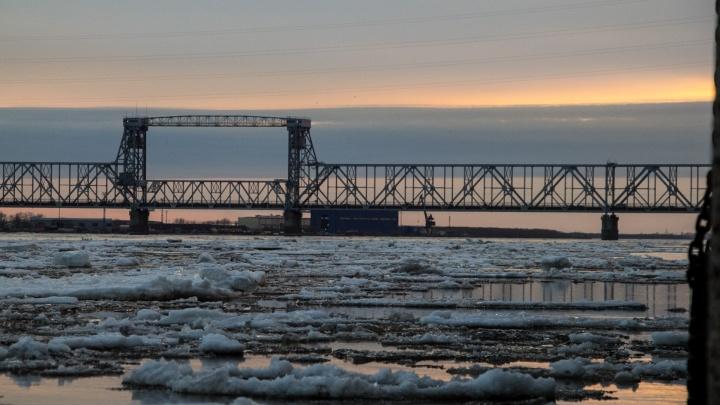 Ледоход в Архангельской области ожидают на две недели раньше
