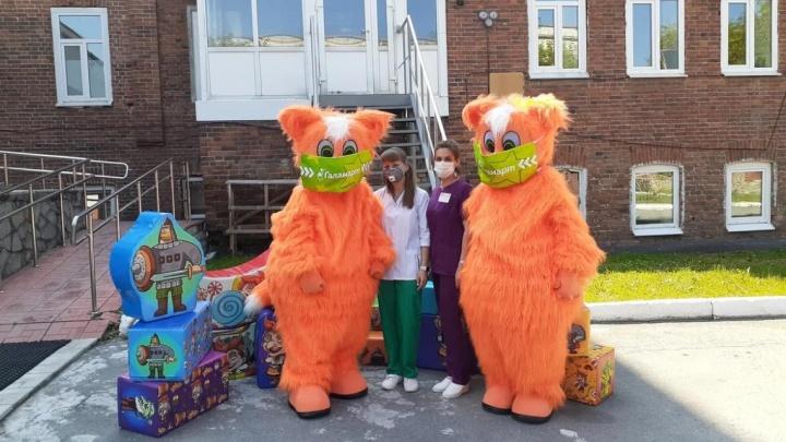 В екатеринбургских больницах появились игровые модули для детской зоны от «Галамарта»