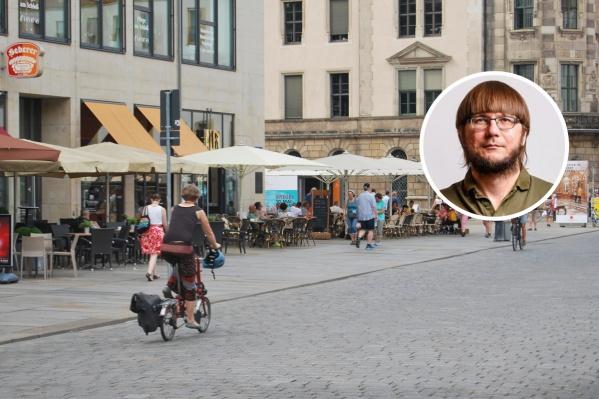 В Дрездене пока не ввели полный карантин, но жители к этому морально готовятся