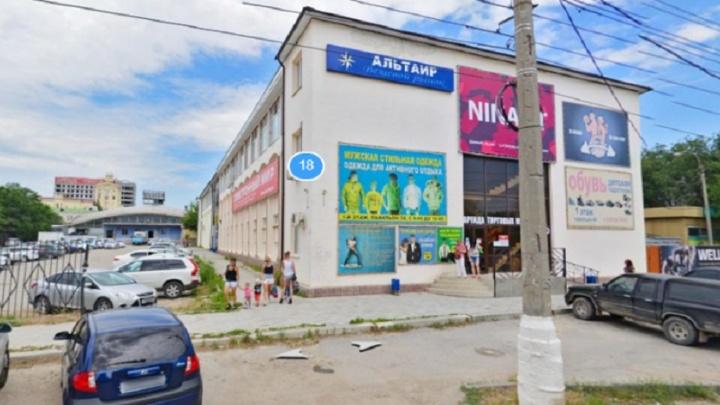 В Волгограде закрыли рынок рядом с Торгушкой