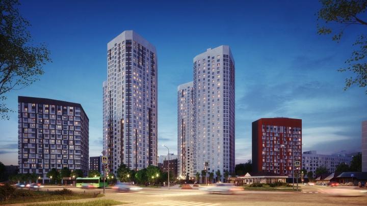 В Кировском районе началось строительство «бриллиантового» жилого небоскрёба