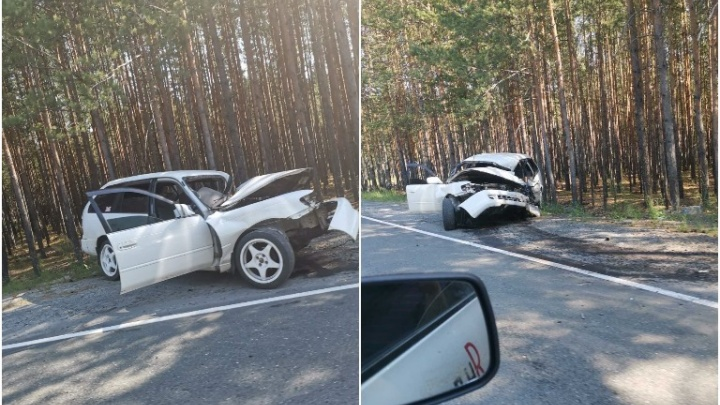 Под Муллашами после жесткого столкновения машин пострадали три человека