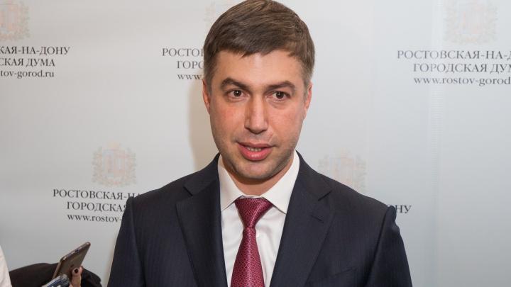 Алексей Логвиненко отказался от места в городской думе Ростова