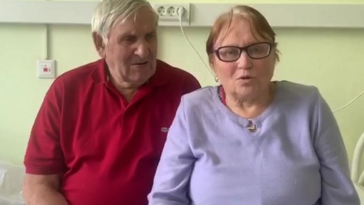 Медики вылечили от коронавируса пожилую пару из Талицы: супруги записали трогательное видео