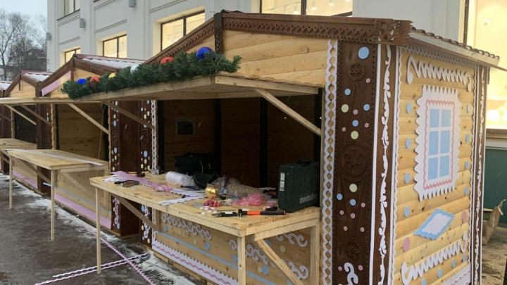 В стиле пряника: в Архангельске откроют уличную новогоднюю ярмарку и горки для детей