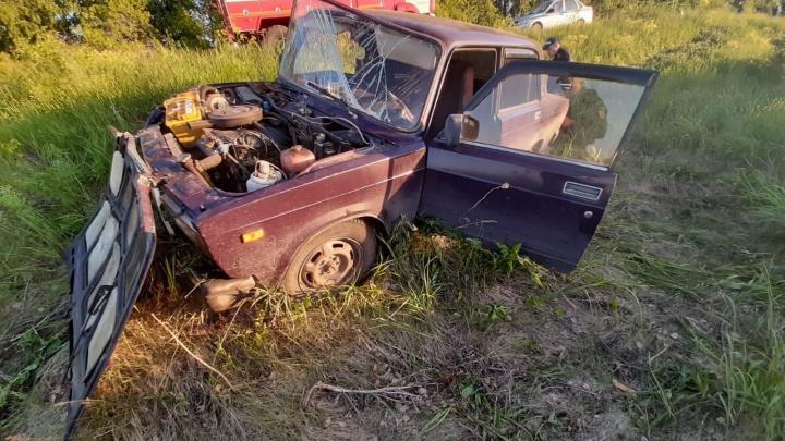 Водитель уснул за рулем: в Зауралье в ДТП погиб полуторамесячный ребенок