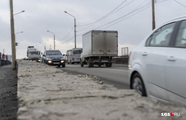 На мосту Малиновского в Ростове разрешат ходить пешеходам