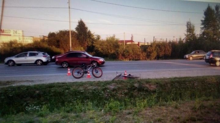 ВелоДТП: в Тюмени лоб в лоб столкнулись двое велосипедистов