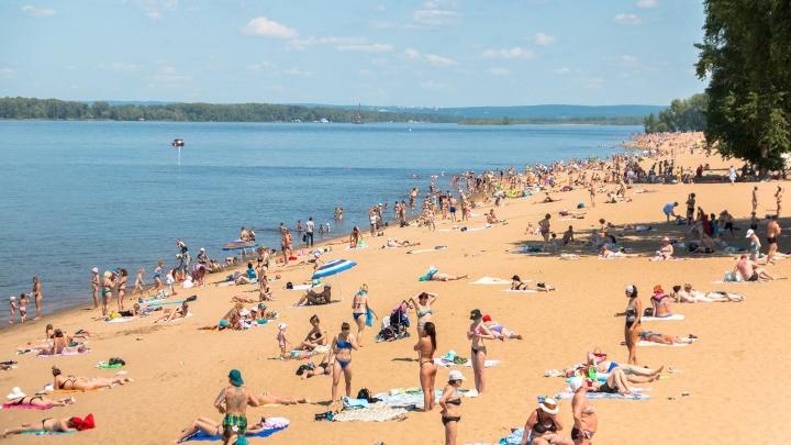 Где в Самаре откроются официальные пляжи: рассказываем в одной картинке