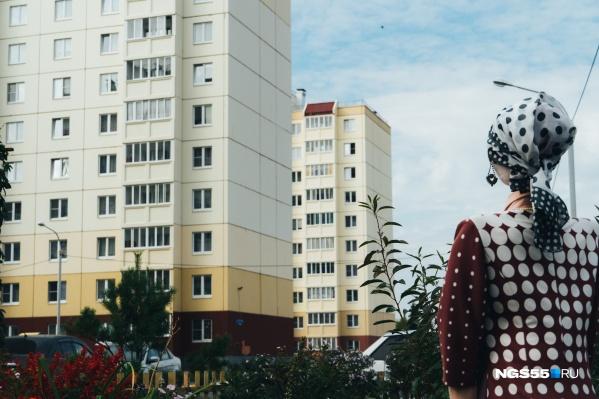 Жительница деревни Облепиховки не волнуется за многоэтажки на Стороженко
