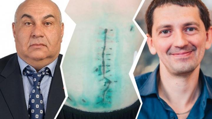 Следователи возбудили дело на новосибирца, который обвинил депутата и его сына в нападении с ножом
