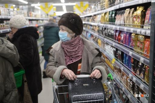 В Зауралье из-за коронавируса ограничивают посещения магазинов для пенсионеров