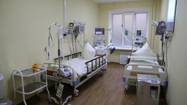 В Ростове заработал новый ковидный госпиталь на 200коек