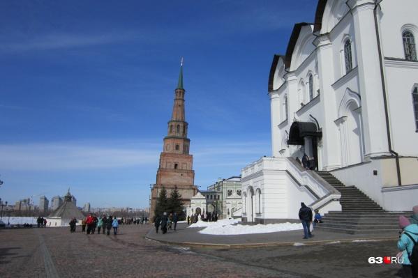 Число желающих увидеть достопримечательности Казани уменьшилось из-за коронавируса