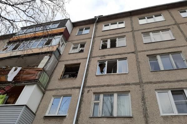 Взрыв газа прогремел на третьем этаже пятиэтажки 30 ноября 2019 года