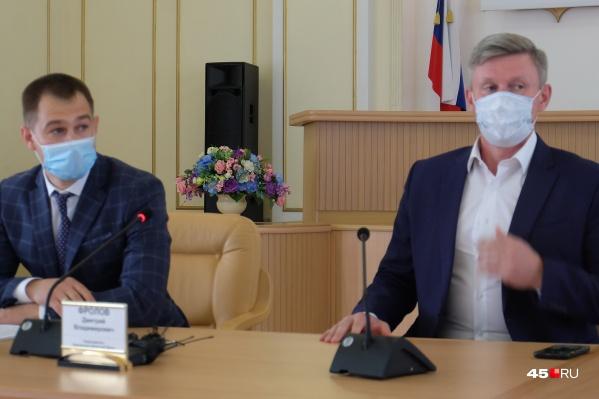 Первый заместитель губернатора Курганской области Владимир Архипов рассказал о законе, ограничивающем работу«наливаек»