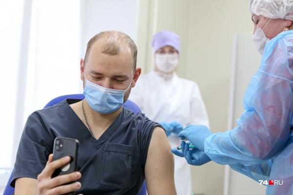 Массовая вакцинация в России началась с середины января