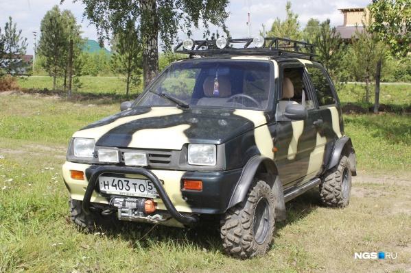 Видели такую машину на улицах Новосибирска?