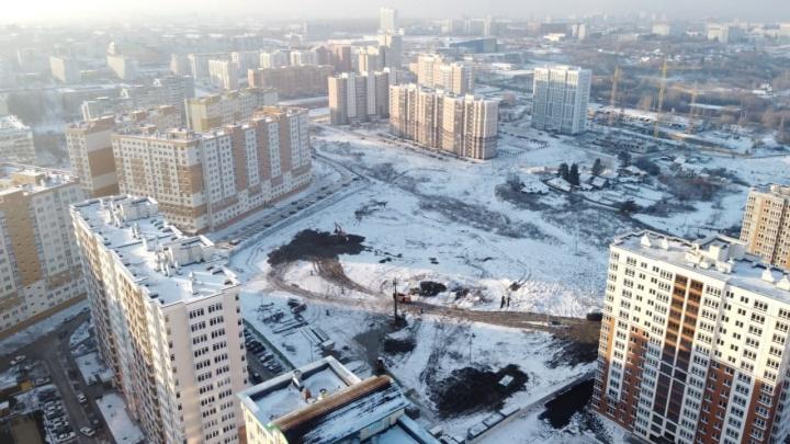 В Кемерово начали строить новую школу. На нее потратят больше 1,2 млрд рублей