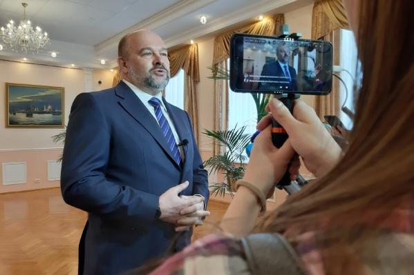 Игорь Орлов объявил об отставке