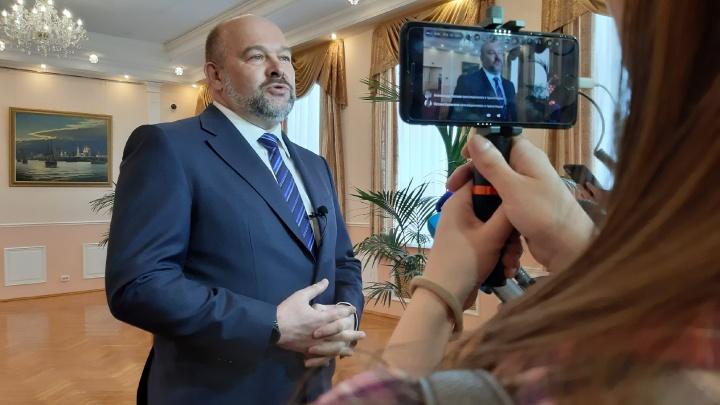 Игорь Орлов объявил об отставке: прямое включение 29.RU