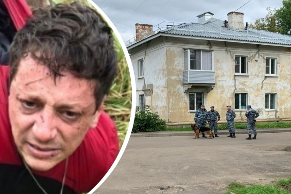 Молчанова взяли неподалёку от места преступления