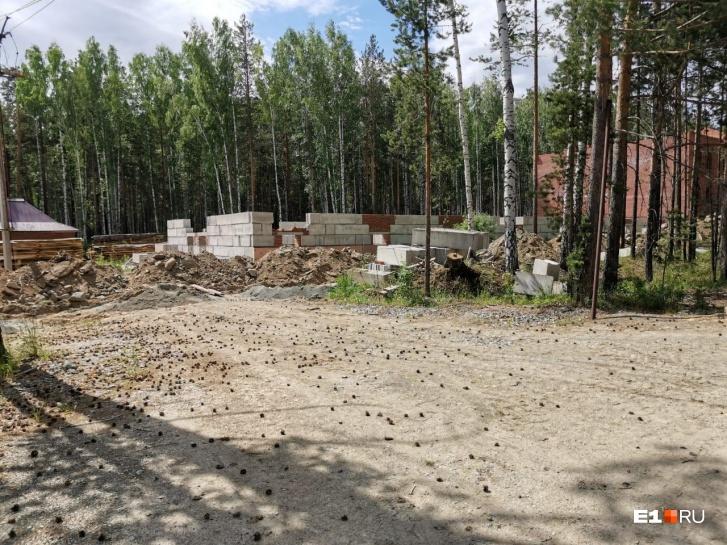 А монастырь продолжает строиться