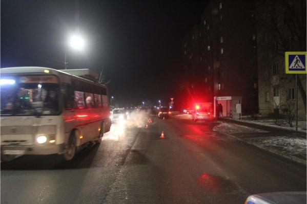 Авария произошла вечером 14 декабря