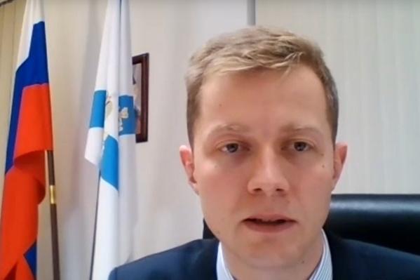 Вопрос о проверке в больнице Коряжмы Александру Герштанскому журналисты задали на онлайн-брифинге
