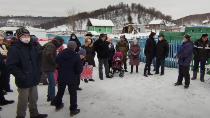 Жители Башкирии протестуют против разработки карьеров
