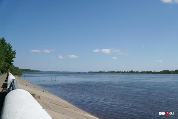 Трагедия произошла на правом берегу Камы, в Кировском районе