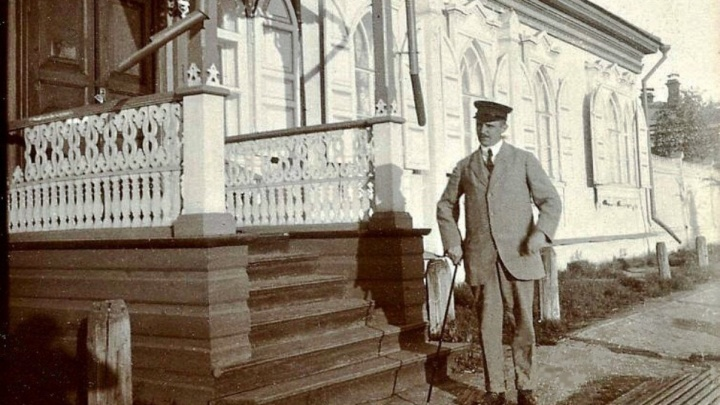 В Сети появились архивные фото датского предпринимателя в Омске, снятые 100 лет назад